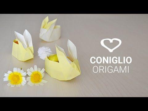 Tutorial: Come realizzare dei conigli origami di Pasqua - La Figurina
