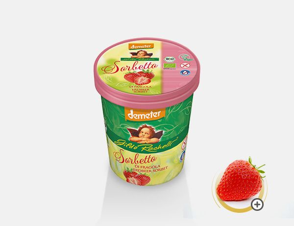 Sorbetto alla Fragola 350 g / 500 ml
