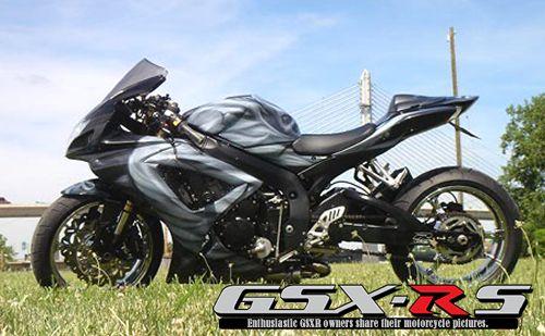 2006 GSXR 600 – Custom Black   GSXRs
