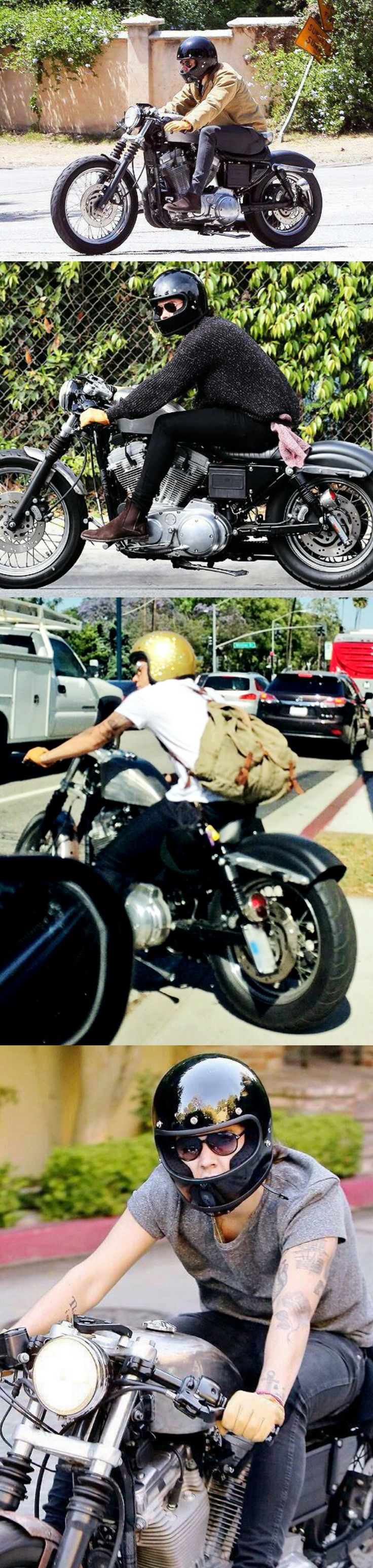 Harry Styles ❥ riding <3 This is one man i would ride with and not be scared. <3 lnl <3