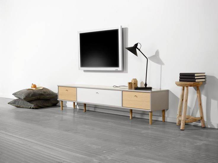 Flexibel mediamöbel av vår tillverkare Hammel. EM Möbler - Mistral.