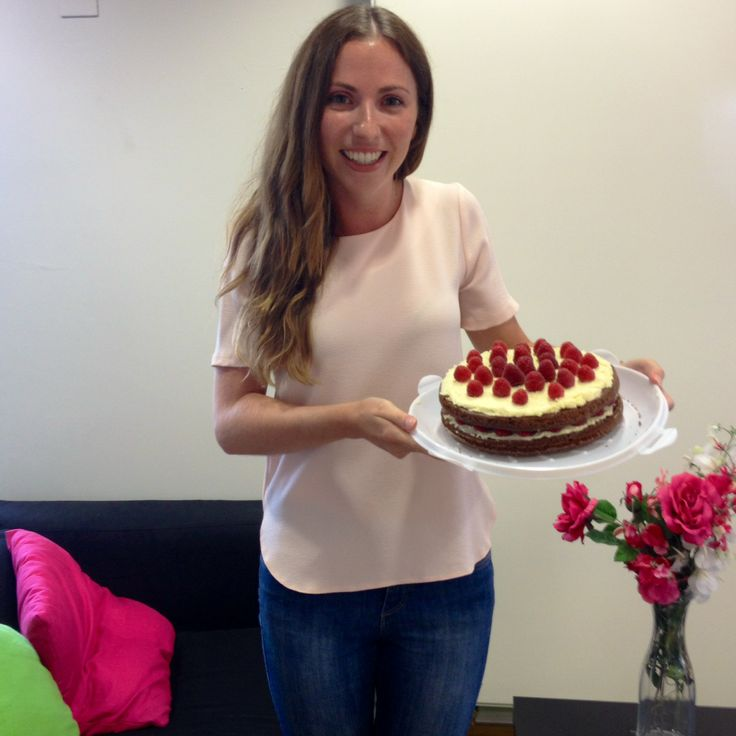 Chocolate and raspberry cake by @modeofstyle for Lora T's birthday #ZealTreats #LifeatZeal #Cake