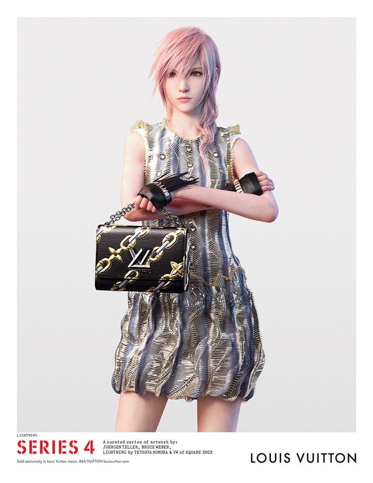 「FFXIII」のライトニングさんがルイ・ヴィトン広告キャンペーンのモデルに。世界各国で発売される雑誌の広告やPVに起用 - 4Gamer.net