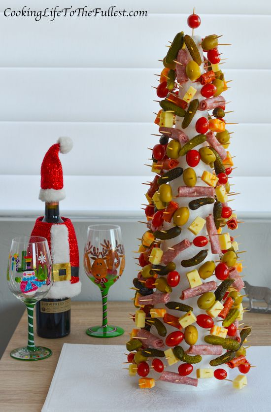 7698 best i luv christmas images on pinterest kitchen - Christmas tree shaped appetizers ...