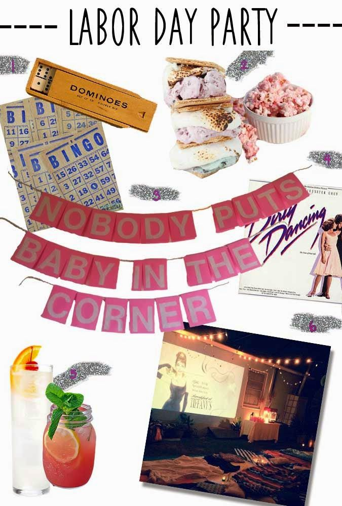 because life is a party: DIRTY DANCING THEMED BACKYARD BASH
