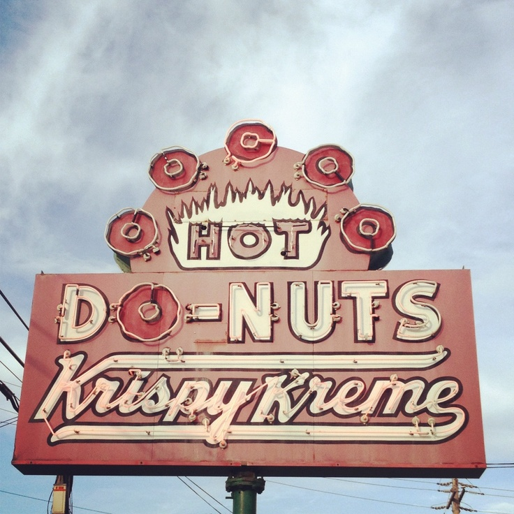 Vernon Rudolph opened a doughnut shop in Winston-Salem, North Carolina selling to grocery stores and then directly to individual customers. The first store in North Carolina was located in a rented building on South Main Street in Winston-Salem in what is now called historic Old Salem.