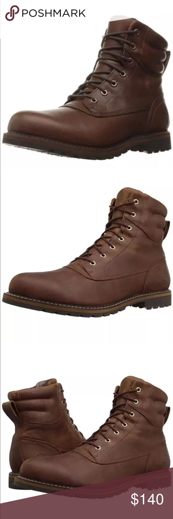 Timberland Men Chestnut Rg Plain Toe WP Boot sz 9 Timberland Men's Chestnut Ridge Plain Toe WP Boot Size 9 100% authentic real new in box Timberland Shoes Boots