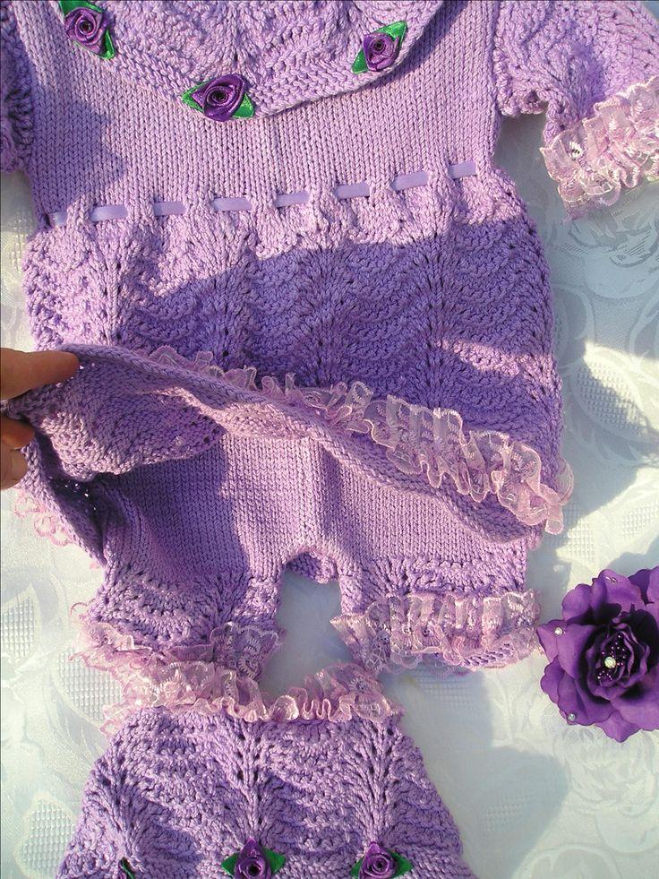 продаю вязаный комплект для малышки,размер 68,вязаное платье,шортики,вязание на заказ,вязаный комплект для малышки