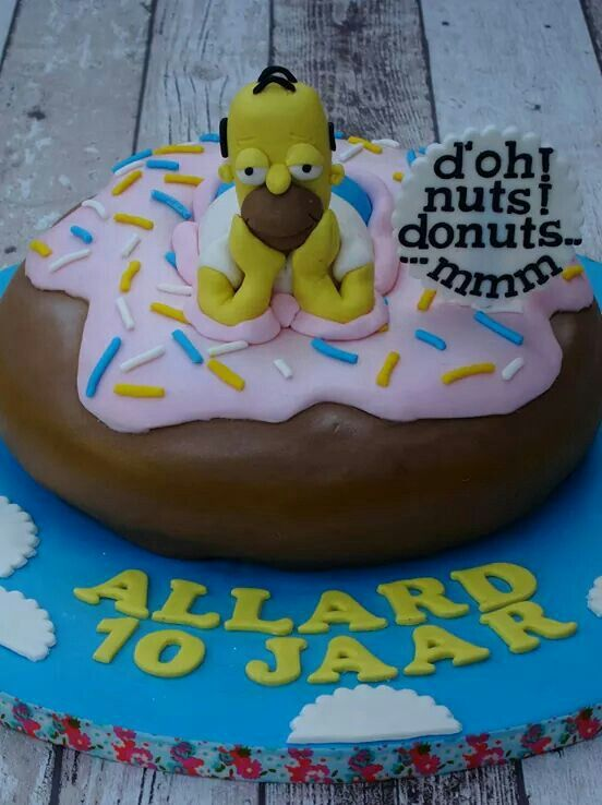 1000 Ideas About Simpsons Donut On Pinterest Sweets Art