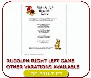 photo regarding Christmas Left Right Game Printable identified as Remaining legal rights xmas tale