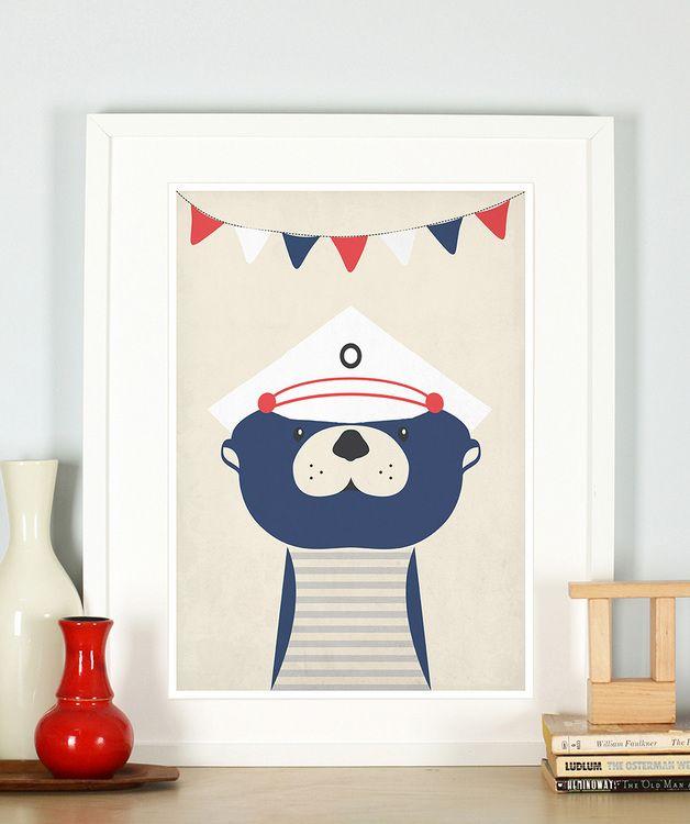 25+ best poster kinderzimmer ideas on pinterest | hellgelbe ... - Kinderzimmer Deko Dawanda