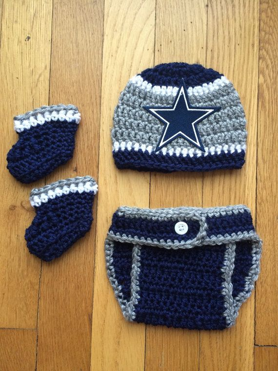 Dallas Cowboys Crochet Baby Hat Pattern : 17 Best images about Todo bebes on Pinterest Crochet ...