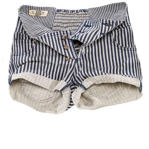 the fancy - pull high waisted shorts.