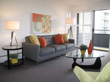 11 best images about living room colors and design ideas for Grey and orange living room ideas