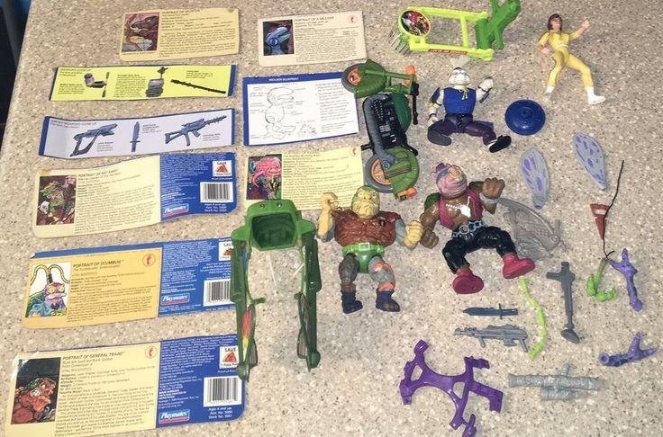 Vtg TMNT Teenage Mutant Ninja Turtle Toys Lot 2 Mirage Playmates 1988 89 90  | eBay