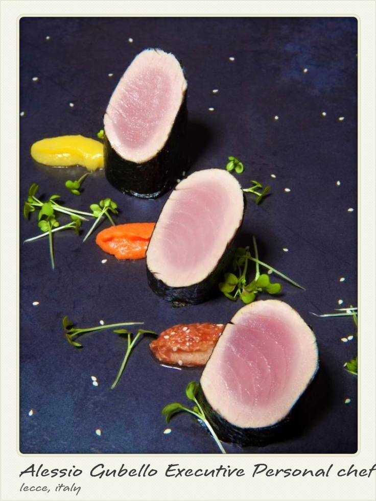 Tuna with chutney