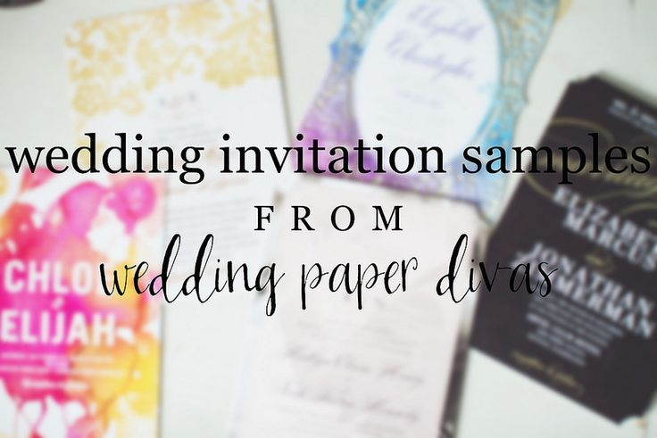 Wedding Divas Invitations Template: Wedding Invitation Samples From Wedding Paper Divas