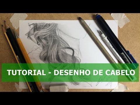 Desenho Realista de Retratos a Lápis com Carlos Damasceno - Cabelo Loiro...
