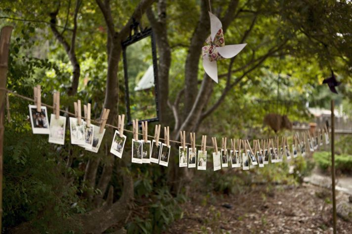 Outdoor wedding with TONS of DIY inspiration   OneWed