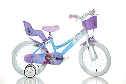 14 Zoll Frozen Eisprinzessin Kinderfahrrad Kinderrad Fahrrad Spielrad Rad
