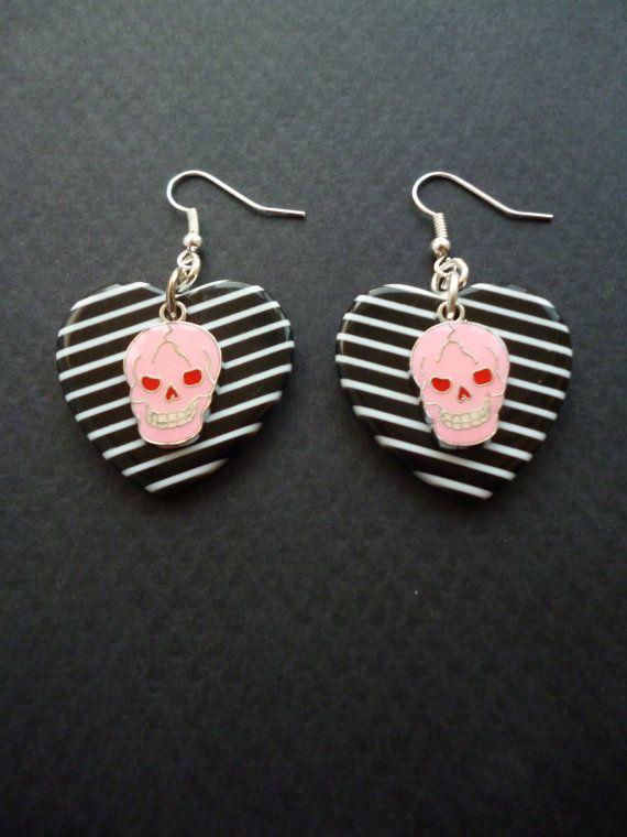 1000 Ideas About Skull Earrings On Pinterest Skull