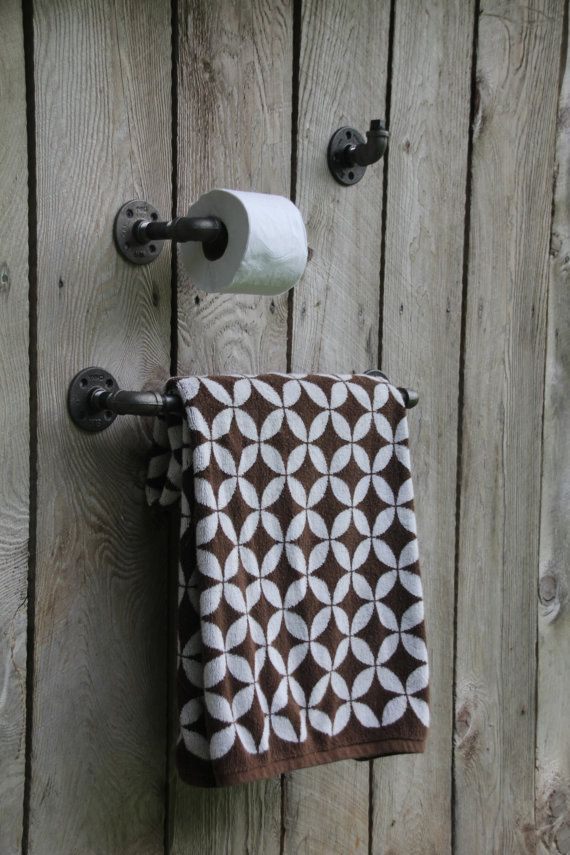 Bathroom Set Toilet Paper Holder Bathrobe Hook Towel
