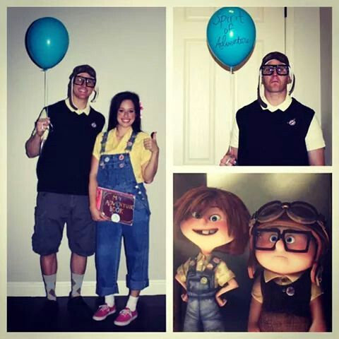 Young Carl and Ellie from Up couple costumes & 310 best Costumes images on Pinterest | Costume ideas Costumes and ...