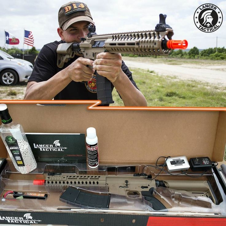 A Marine gets this first #AirsoftGun! We had a great time at @oplionclaws #BullDog at Fort Hood TX! One of the highlights was when our friend one of the Marines at the even bought a Lancer Tactical #MultiMissionCarbine! We threw in an 11.1v Lipo Battery a Lipo Charger some 0.28g Bio BBs and some silicone oil. He's ready to #HitTheField! Have fun dude!  #LancerTactical #Milsim #Marines #LionClaws #airsoft #NewGun #strikehard #strikefast #M4 #MMC #LipoReady #FortHood #Texas #TexasAirsoft…