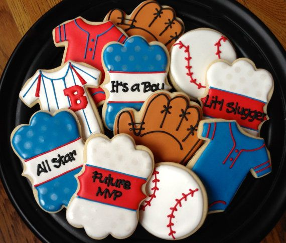 Take Me Out to the Ballgame Sugar Cookies by NotBettyCookies