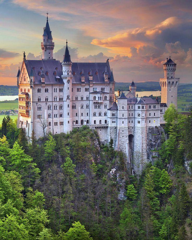 Schloss Neuschwanstein Schwangau (Bayern)