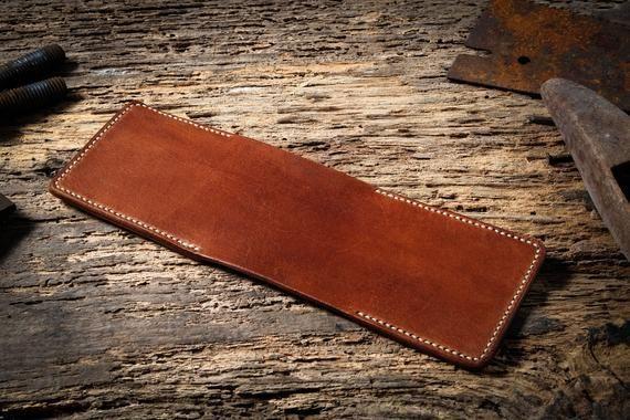 Personalisierte Leder Brieftasche für ihn, Geburtstagsgeschenk Herren Leder Brieftasche, Ges …