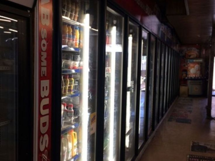 Online auction- After 60 years the Dillard Grocery Store is closing. Complete Grocery Store Fixtures to include 2012 CD's 15 Door reach in cooler system, (4) ice cream freezers, Hussmann 4 Door reach in cooler, Hussmann 2 Door ice merchandiser, 200' gondola shelving, Tri 2 Door cooler, 3 1 Door cooler, ATM machine, safe, coffee/hot chocolate dispenser, asst. merchandise, neon signs, cabinets,counters, cigarette display, cash register, glass display, security camera system…