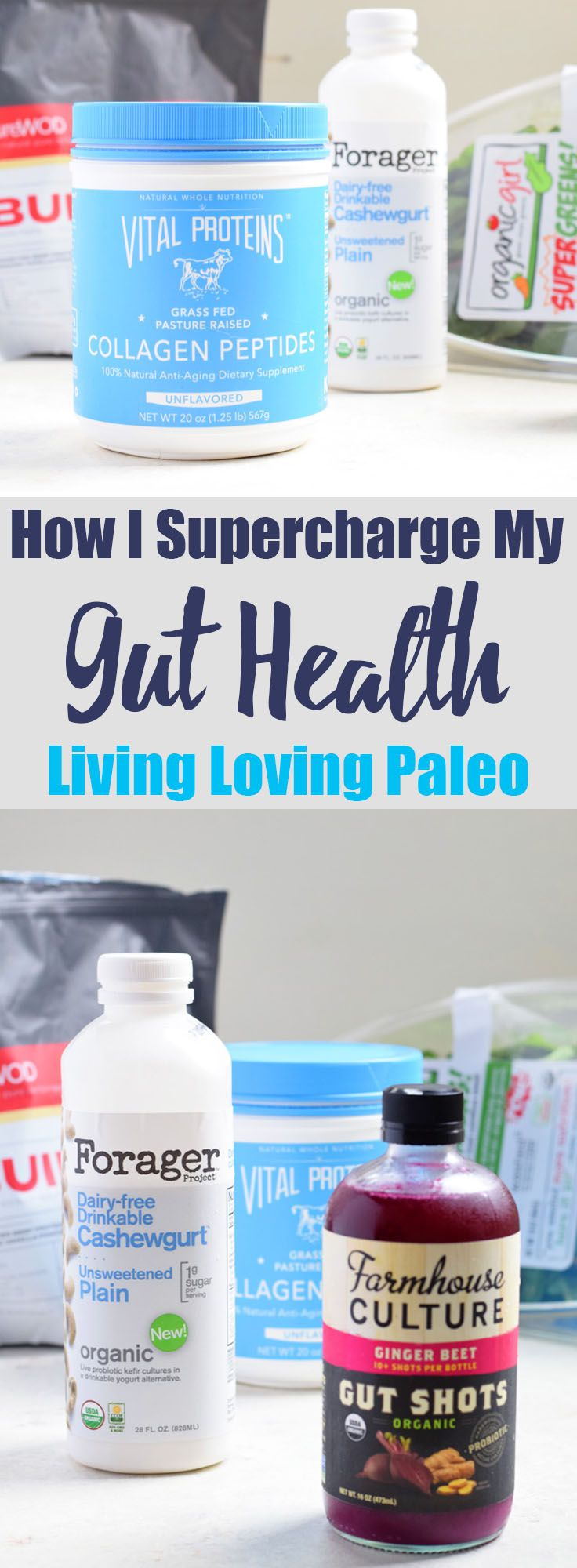 How I Supercharge My Gut Health from Living Loving Paleo | If you're recovering from an illness or just want to optimize your gut health, this post is for YOU!