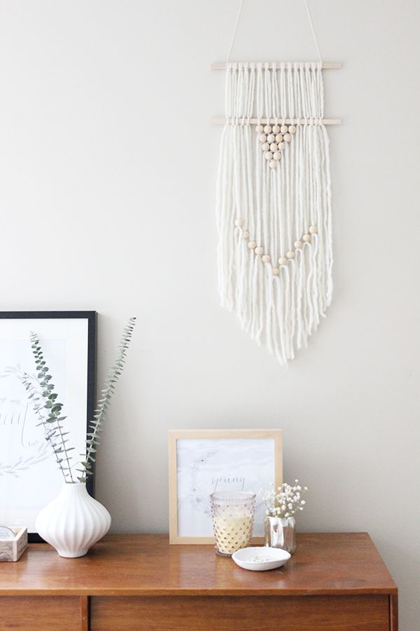 Oh The Sweet Things: DIY | Wall hanging