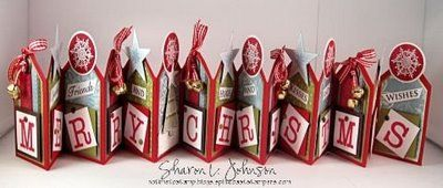 JustRite Stampers: Day Five with Sharon Johnson - JustRite Accordion Tags