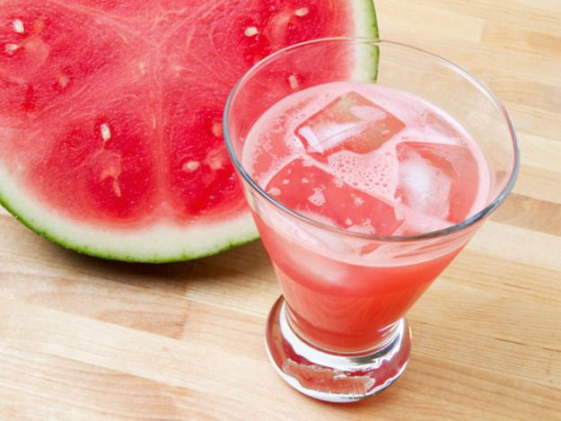 To get the watermelon flavor to really come through in this thirst-quencher, you'll whir an ample amount of ripe cubed melon (seedless is best) in a blender with a little kosher salt. Be sure to strain through a fine-mesh sieve to avoid any pulp in the drink.