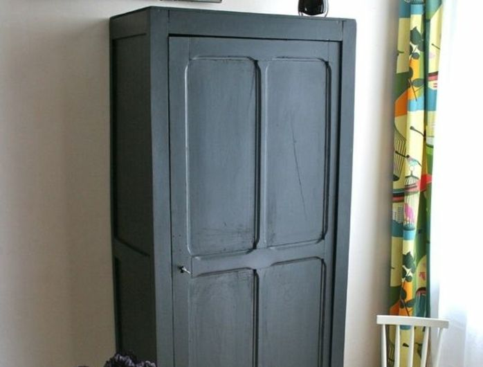 23 best relook meubles images on pinterest antique furniture old furniture and repurposed Relooker armoire ancienne idees