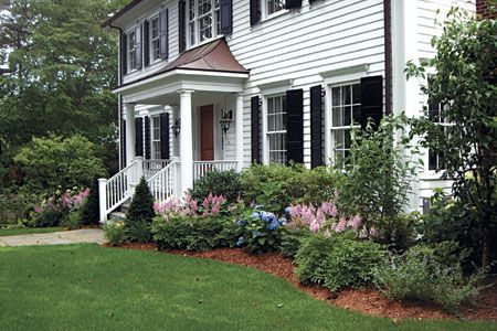Foundation Planting Basics The plantings closest to your home should play up its assets and soften its hard edges
