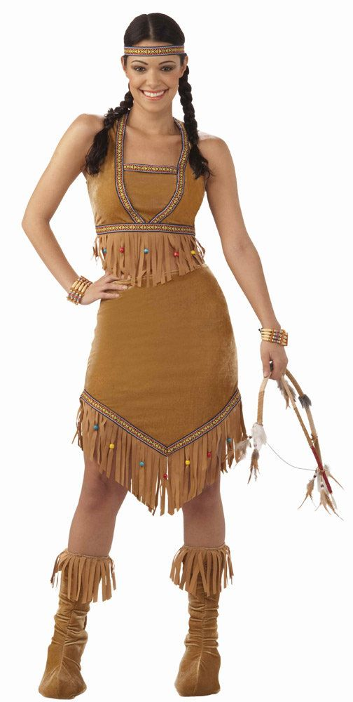 Native Indian Princess Costume
