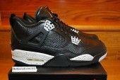Nike Air Jordan IV Retro 4 Oreo Remastered Black 314254-003 GS