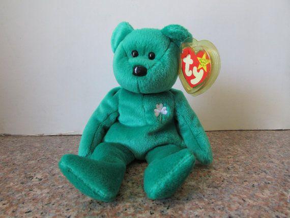 68f7b53c39b Erin - Ty Beanie Baby Plush - Retired - Both Tags - Rare First ...