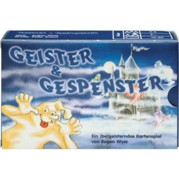 Szellemek és kísértetek - Geister & Gespenster - gyerek társasjáték 5 éves kortól - Adlung