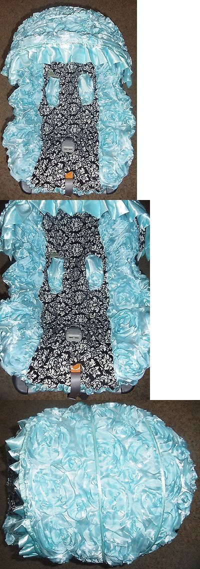 Car Seat Accessories 66693: Sale! Infant Baby Car Seat 3D Rosette Cover Canopy, 4 Piece Fits Most Car Seats -> BUY IT NOW ONLY: $35.99 on eBay!