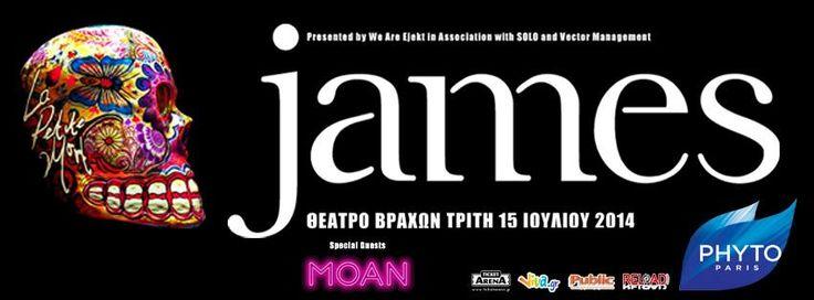 Η Phytoplage σε απογειώνει και σε πάει στους James για να απολαύσεις την πιο εθιστική συναυλία του καλοκαιριού!  Μπες στην κλήρωση για 10 διπλές προσκλήσεις και πάμε παρέα να ακούσουμε το λατρεμένο συγκρότημα του ελληνικού κοινού!
