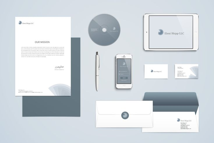 Integers and the golden ratio match the high quality services Eleni Shipp has to offer. Simplicity paired with modern, elegant and at the same time robust, professional lines mirror the company's profile.