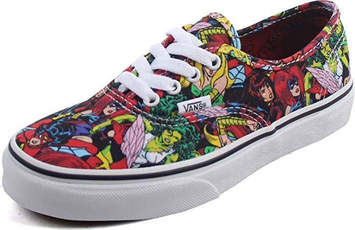 Vans Authentic (Marvel) Little Kids