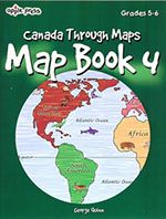 Canada Map Book 4 - Grades 5-6 - Northwoods Press