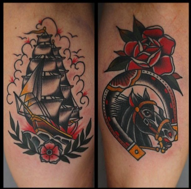 37 best classic americana tattoos images on pinterest for Traditional americana tattoos
