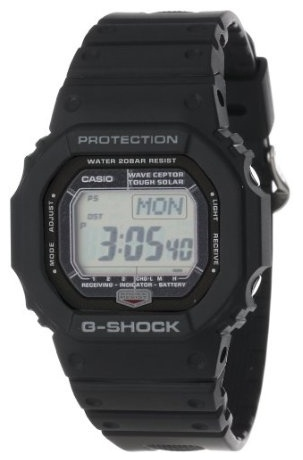 Casio Men's GW5600J-1 G-Shock Atomic Tough Solar Watch