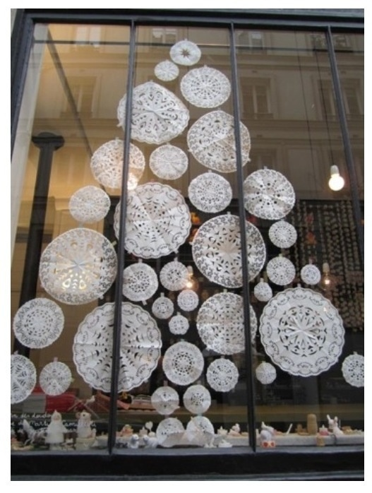 Simple, cost effective idea for a window display! - Found via @Phillip Hill International Visual Blog